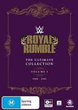 WWE: Royal Rumble Ultimate Collection Vol 1 (1988-2001) NEW R4 DVD
