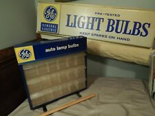 General Electric (GE) Auto Lamp Bulbs ~Three Drawer~ WALL MOUNT METAL CABINET
