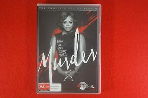 How To Get Away With Murder Season 2 - DVD - Free Postage !!