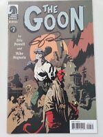 THE GOON #7 (2004) DARK HORSE COMICS AUTOGRAPHED by ERIC POWELL w COA! HELLBOY!