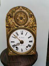 Mouvement horloge comtoise Pendule Ancienne