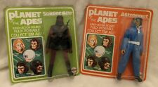 """1967 Mego Planet of the Apes 8"""" Action Figures – Soldier Ape and Astronaut"""