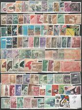 España 100 sellos disitintos nuevos sin fijasellos  B(según foto)