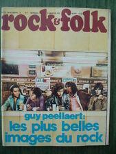 Magazine ROCK & FOLK n° 82 - Nov. 1973 - Cv Guy PEELLAERT- Poster Little RICHARD