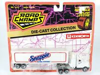 ROAD CHAMPS KENWORTH Semi Tractor Trailer SNAPPLE BEVERAGES 1:87 HO SCALE NEW