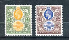 1921 Sierra Leone high value  reprint