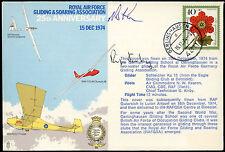 Germania 1974 RAF sistema di funzionamento e l'impennata firmato volato Coperchio #C 25010