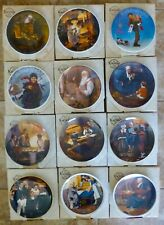 Knowles - Norman Rockwell - Collector Plates - Pick The Plate You Want - $5 Each