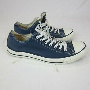 Converse Chuck Taylor All Star X9697 Men US 12 Faded Blue Low Top Lace Up Shoe