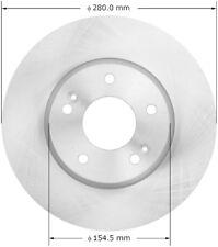 Disc Brake Rotor-Turbo Front Bendix PRT5991