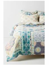 Anthropologie Ponsonby Reversible Queen Quilt