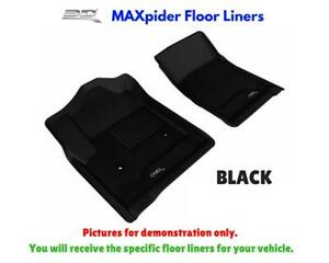 3D Maxpider Kagu Floor Mats Liners All Weather For Hyundai Ioniq 2017-2019