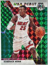 NBA Mosaic | Kendrick Nunn | Heat | NBA Debut | Green Mosaic | #268