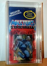 Spanish Skeletor Figure Masters Of The Universe MOTU NIB AFA 60 Graded MOC RARE!
