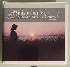 MINISTERING TO THE BABIES IN THE WOMB  by arthur burk    CD audiobook 11 disc