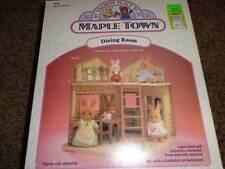 Vintage Maple Town  Dining Room Furniture Set 7146 NIP Tonka Sylvanian Cupboard