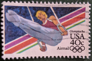Stamp United States SGA2023 1983 40c Airmail Los Angeles Olympics '84 Used