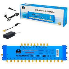 Sat Multischalter 9/16 Multiswitch Switch FullHD 4K 8K MS 16Teilnehmer Verteiler