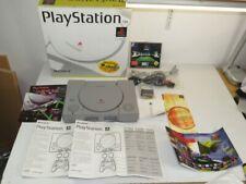 !!! SONY PLAYSTATION PS1 FAT Konsole SCPH-5502 Demo 1, KOMPLETT, OVP RAR GUT !!!