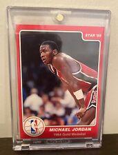 Rare Original 1985 Star Michael Jordan Rookie 1984 Gold Medalist Card #7 of 10