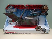 Jurassic World Park Capture Vehicle Pteranodon Helicopter Playset New Dinosaur