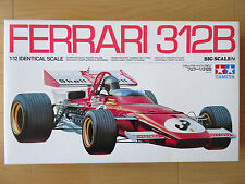 TAMIYA 1/12 Ferrari 312B Big Scale Formula 1 Model kit Vintage item 12007