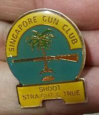 Singapore Gun Club pin badge button