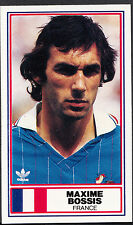 Rothmans Football Card - International Stars - Maxime Bossis - France
