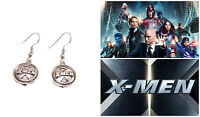 Marvel Comics X-Men Logo Cute Dangle Earrings Girl Cosplay W/Gift Box USA Seller