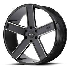 24 Inch Black Wheels Rims Chevy Tahoe Silverado 1500 Sierra Yukon Suburban KMC