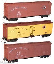 Accurail NORTHERN PACIFIC Box Car / Reefer KITS (3 car set / 3 car #'s) NIB