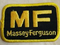 MASSEY FERGUSON TRACTORS LOGO PATCH IRON//SEW ON NEW