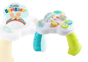 2 in 1 Learning Table Musical Lights Table Baby 6 to 12 months Early Leraning