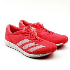 Adidas Adizero SUB2 Boost Running Shoes Mens Sz 5 Womens Sz 6 B37408 Shock Red