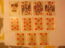 Rare Anheuser Busch Spanish American War 1899 Playing Cards Hearts Adm Dewey