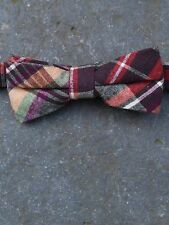 Tartan Wool Bow Tie by Tails and the Unexpected