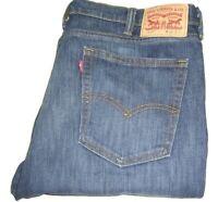 Mens LEVI'S 510 Dark Blue (0033) Skinny Fit Stretch Denim Jeans W38 L34