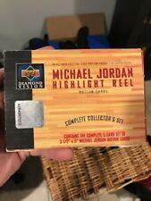 1997 Michael Jordan Upper Deck Highlight Reel Motion Cards Complete Box Set