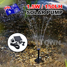 Solar Power Water Pump Panel Kit Fountain Pool Garden Pond Submersible Watering