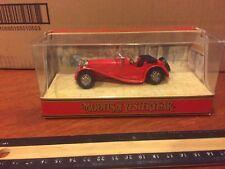 MATCHBOX 01G JAGUAR SS 100 - Red COLLECTIBLE EDITION. BRAND NEW.