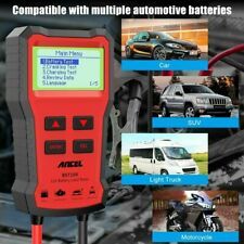 Automative 12V Car Battery Tester Cranking Charging Test Circut Analyzer 2000CCA