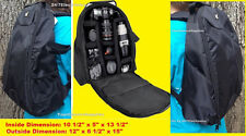 PADDED BACKPACK CASE BAG TO CAMERA CANON REBEL T3 T3i T5 T5i T4i SL1 T6i T6S