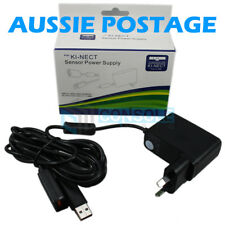 KINECT SENSOR USB POWER SUPPLY / ADAPTOR / CABLE - - Xbox 360 - - Aussie Plug!