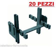 20 PZ PEZZI DISTANZIATORI PER VETROMATTONE 10 mm  distanziatore x vetromattoni