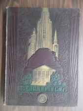 1931 TCU Horned Frog Yearbook Texas Christian University Football Art Deco VG