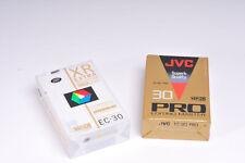 2 x VHS-C Compact Video Cassettes
