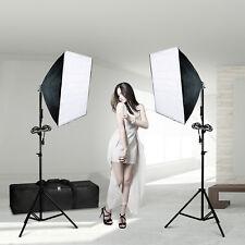 Photography Studio Soft box Softbox Continuous Photo Video Lighting Kit w/ Bag