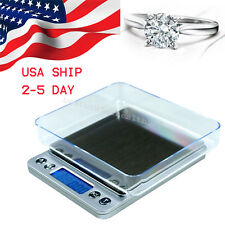 USA 500g x 0.01g Digital Jewelry Precision Scale Piece Counting ACCT-500 .01 g