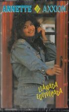 Annette y Axxion Llamada Equivocada Cassette New Sealed