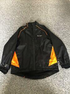 Boys Muddyfox MTB jacket - age 9 Black/Orange